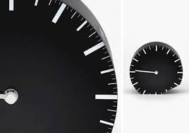 flip to switch minimalist clock solves daylight savings time