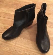 womens wedge boots size 12 clarks zip wedge boots for ebay