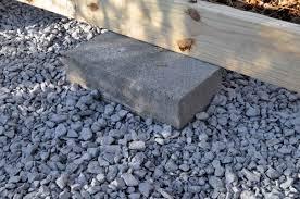 hollans models build a shed on deck blocks