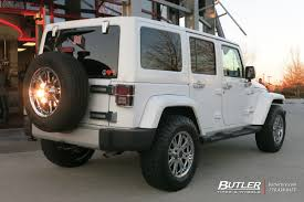 american jeep jeep wrangler with 17in american racing ar708 wheels exclusively