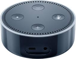 amazon echo dot 2nd generation black dotblack best buy