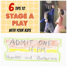 how to stage a family play with your my adventures
