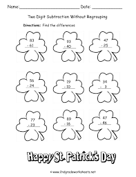 writing paper 2nd grade st patrick s day printouts and worksheets st patricks day worksheet