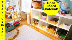 toddler playroom tour updated open ended materials youtube