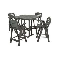 Patio Bar Furniture by Bar Height Dining Sets Outdoor Bar Furniture The Home Depot