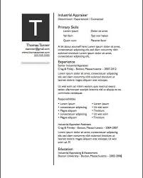 Best One Page Resume Format by Download Pages Resume Templates Haadyaooverbayresort Com