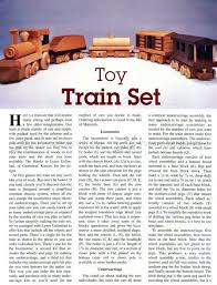 wooden toy train plans u2022 woodarchivist