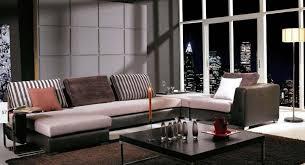 canapé cuir et tissu canapé cuir tissu idées de décoration intérieure decor