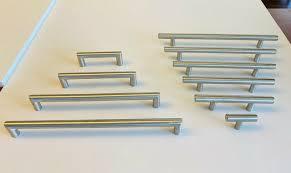 modern stainless steel kitchen cabinet pulls modern brushed nickel stainless steel kitchen cabinet bar pulls handles hardware