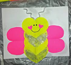 butterfly love bug valentine u0027s day craft for kids crafty morning