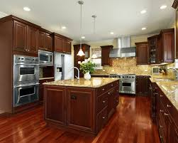 Cherry Cabinet Kitchen Living Room Decoration - Cherry cabinet kitchen designs