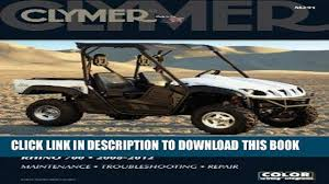 read now yamaha rhino 700 2008 2012 clymer color wiring diagrams