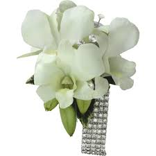 white orchid corsage white corsage flowers gold coast delivery botanique