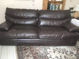 G Plan Leather Sofa G Plan Leather Sofa 2 Seater Chocolate Brown In Fishguard