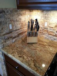 Outlet Covers For Glass Tile Backsplash by River Bordeaux Granite With Golden Honey Stacked Stone Google