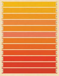 litmus orange cmyk print large print bars pantone index