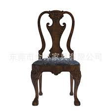 classical solid wood chair upscale star hotel dining table and