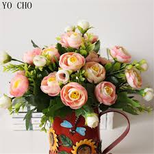 Peony Arrangement Compare Prices On Silk Peony Arrangement Online Shopping Buy Low