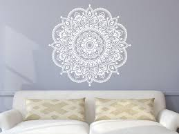 Lotus Flower Wall Decal Om by Mandala Wall Decal Yoga Studio Vinyl Sticker Decals Ornament