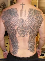 angel back tattoo designs page 27