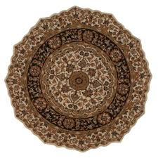 home decorators collection masterpiece beige and black 8 ft round