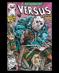 fright rags gives voorhees u0026 krueger the classic comic book