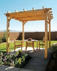 tonnelle de jardin en bois comment construire une pergola en bois pour décorer sa terrasse