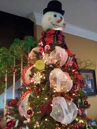 snowman tree another look the snowman tree topper i made my crafts