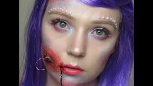 Halloween Makeup Mermaid Halloween Hooked Mermaid Makeup U0026 Sfx Youtube