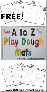 printable alphabet mat free alphabet playdough mats