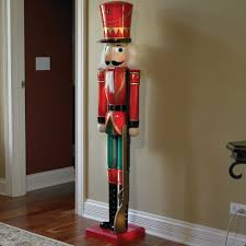size nutcracker outdoor decorations