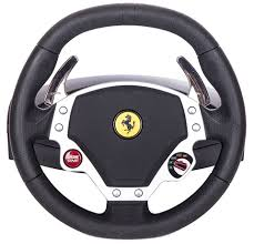 458 italia wheel for xbox 360 steering wheels by thrustmaster free uk shipping