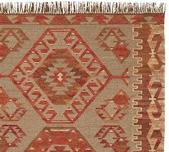 How To Clean Kilim Rug Damen Synthetic Kilim Rug Warm Multi Pottery Barn