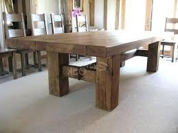 Rustic Modern Dining Room Tables Rustic Modern Dining Room Furniture Katecaudillo Me Regarding