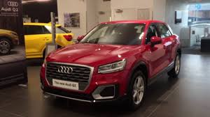 audi germany headquarters all new 2017 audi q2 exterior and interior walkaround review