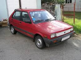 small subaru car subaru justy wikipedia