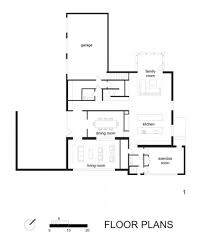 Glass House Floor Plan by Modern Minimalist House Plans Entrancing Small Modern Home Floor