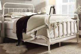 Antique White Metal Bed Frame Vintage Metal Headboard Antique Vintage Metal Tubular Bed Frame