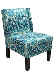 Light Blue Armchair Amazon Com Skyline Furniture Wingback Chair In Alessandra Teal