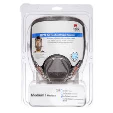 Spray Paint Bunnings - 3m tekk protection full face paint project respirator bunnings