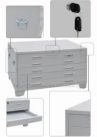 A3 Filing Cabinet A1 Size Welding Design Project Storage Plan Steel 5 Drawer A3 File