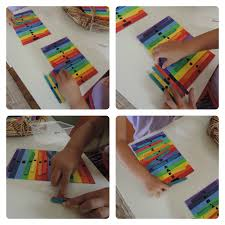 rainbow colour u0026 number sort and sequence game easy diy the