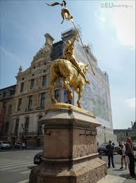 Joan Of Arc Flag Photos Of Gilded Equestrian Statue Of Joan Of Arc In Paris Page 355