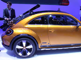 volkswagen cars beetle vw u0027s beetle dune concept photos business insider