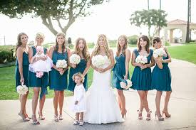 teal wedding teal wedding colors flowers the knot