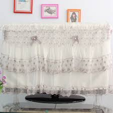 Decorative Flat Screen Tv Covers Decorative Lace Picture More Detailed Picture About 32 55 Inch