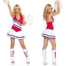 Womens Cheerleader Halloween Costume Cheerleader Halloween Costumes Cheerleader