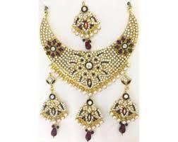 gold set in pakistan pakistan jewelry etsy