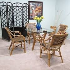 rattan wicker arm chair foter