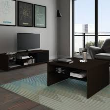 Storage Living Room Tables Coffee Table And Tv Stand Set Wayfair